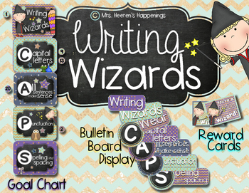 Writing Wizards Goal Chart & Display
