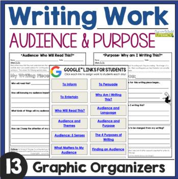 Writing Work: Author's Purpose