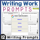 Writing Work: Writing Prompts