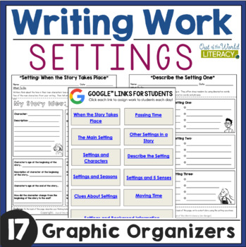 Writing Work: Settings
