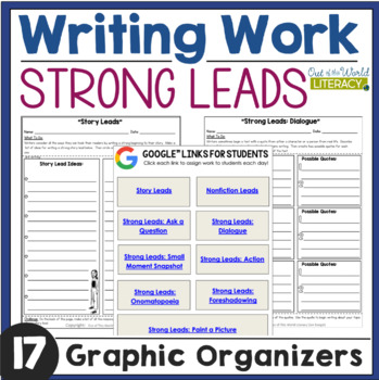 Writing Work: Strong Leads