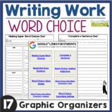 Writing Work: Word Choice