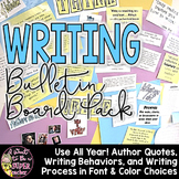 Writing Workshop Bulletin Board Pack
