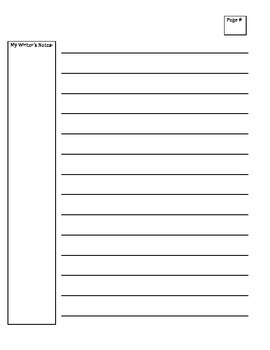 Writing Workshop Draft Paper