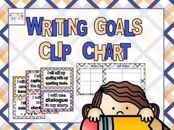 Writing Workshop Goal Chart