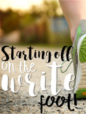 Writing Workshop Printable Prompts for Back to School