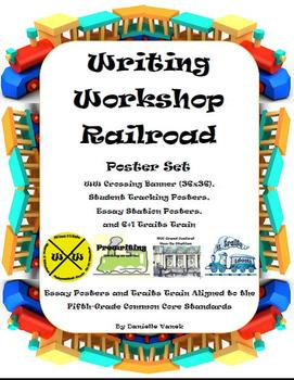 Writing Workshop Railroad Poster Set: Aligned to Common Co