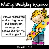 Writing Workshop Resource K-2 classroom