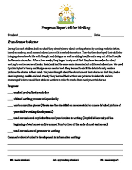 Writing Workshop Units of Study From Scenes to Series prog