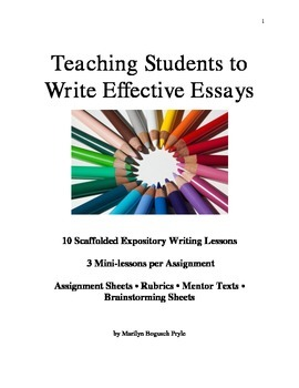 Writing Workshop for Middle School: Teaching Students to W