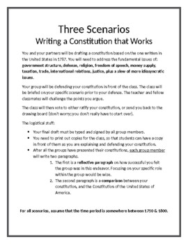 Writing a Constitution