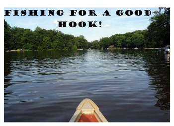 Writing Hooks - Fishing For A Hook Activity (Smart Noteboo