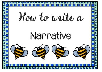 Writing a Narrative {Posters, Labels and Rubric}