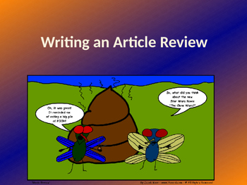 Writing a Review