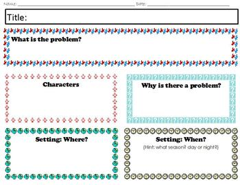 Writing a Story made easy; Story Template & Lesson Plan