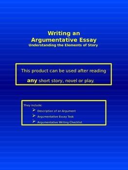Writing an Argumentative Essay - Understanding the Element
