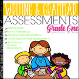 Writing and Grammar Assessments 1st Grade
