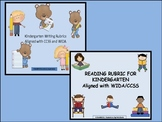 Writing and Reading Rubrics for Kindergarten/First Grade