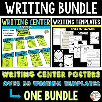 Writing bundle (94 pages: writing center, writing process,