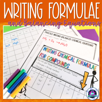 Writing chemical formulae and equations
