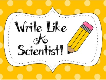 Writing for Science!