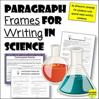 Science Sentence Frames: Scaffold and Differentiate Scienc