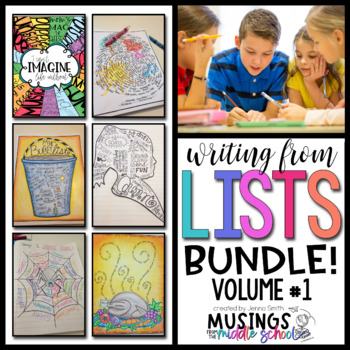 Writing from Lists: Bundle