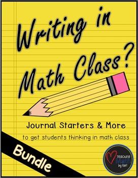 Writing in Math Class? - Bundle