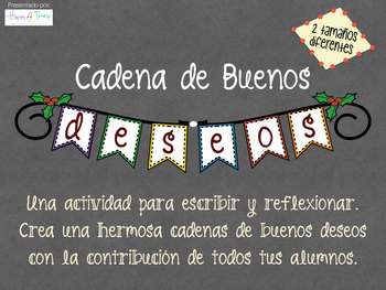 Writing in Spanish. Make a banner with best wishes Christm