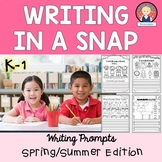 Writing in a Snap {Spring and Summer Edition K-1}