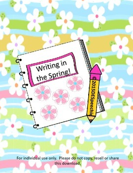 Writing in the Spring!