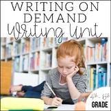 Writing on Demand {a 4th, 5th, & 6th Grade Writing Unit}