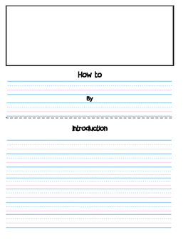 Writing paper for How-to Books