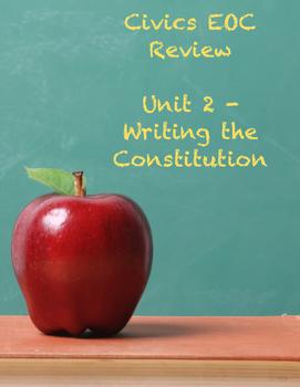 Unit 2 (Writing the Constitution) Civics EOC Review