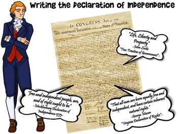 Writing the Declaration of Indepedence