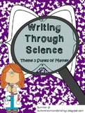 Writing through Science States of Matter (2nd grade common core)