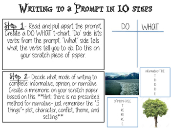 Writing to a Prompt in 10 Steps