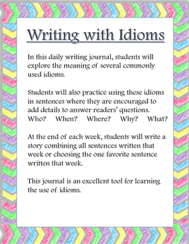 Writing with Idioms