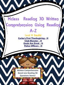 Written Comprehension Level H