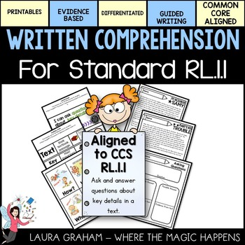Written Comprehension for Standard RL.1.1