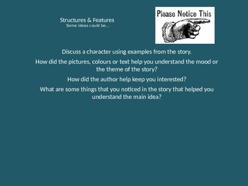Written Response Powerpoint to Support Student Writing