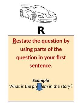 Written Response RACE Answers