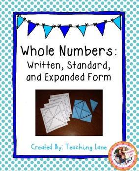 Written, Standard, and Expanded Form Puzzles
