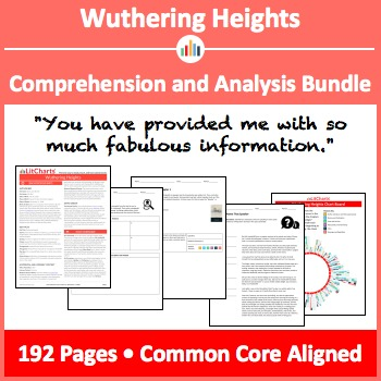 Wuthering Heights – Comprehension and Analysis Bundle