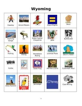 Wyoming Bingo