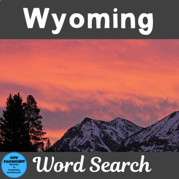 Wyoming Search and Find