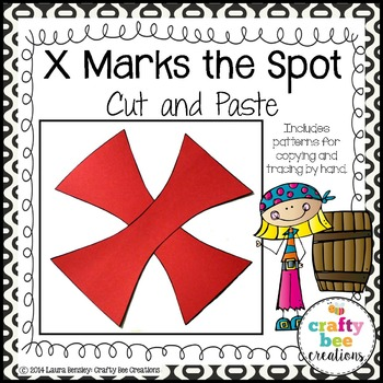 X Marks the Spot Cut and Paste