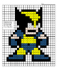 X Men Color By Note Packet