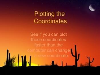 XY Coordinates Game
