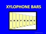 XYLOPHONE - Full Octave Scale w Moveable Notes--Create you